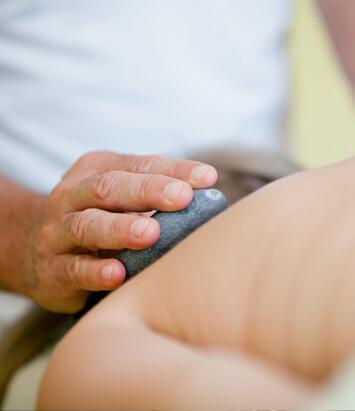 Traitement massothérapie - massage